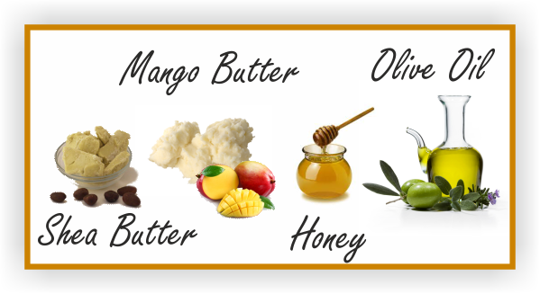 Prepoo shea butter mango butter honey & olive oil