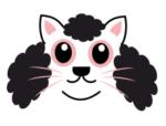 afro kitty t-shirt design