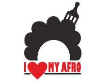 I love my afro t shirt design