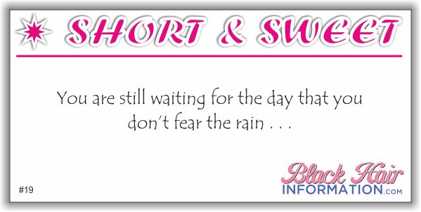 Short And Sweet - Rain