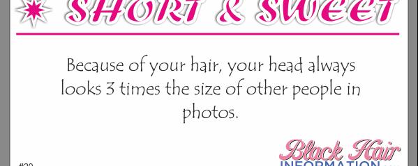 Short And Sweet – Big Head