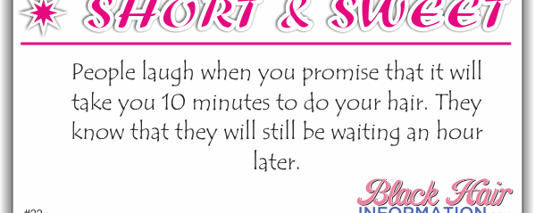 Short And Sweet – 10 Minutes