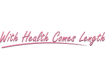 With health comes length t shirt design