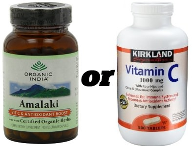 Amalaki supplement vs vitamin c