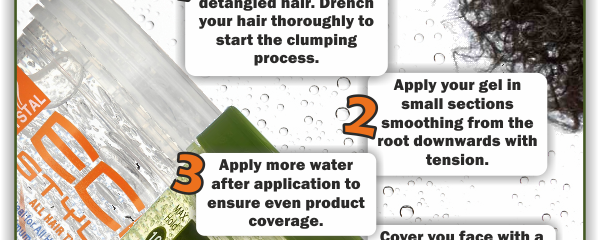 Easy Clumping Routine For Your Summer Wash And Go's – BHI Postcard Tips