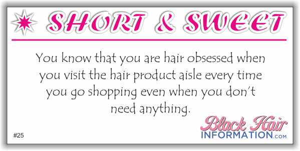 Short And Sweet - Hair Product Aisle