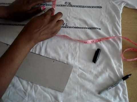 Back To Basics - How To Make A DIY Length Check T-Shirt