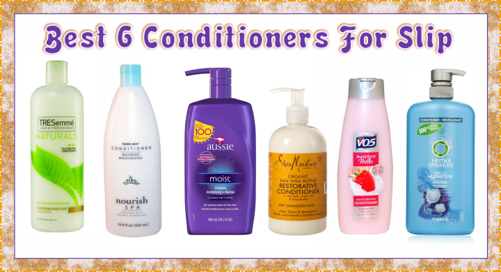 Natural Hair Conditioners With Slip