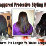 The Staggered Protective Styling Regimen – Grow Your Hair Long The Easy Way