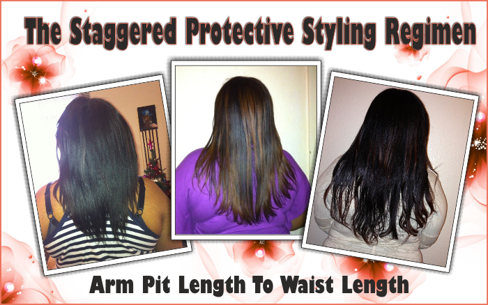 Arm pit length to waist length