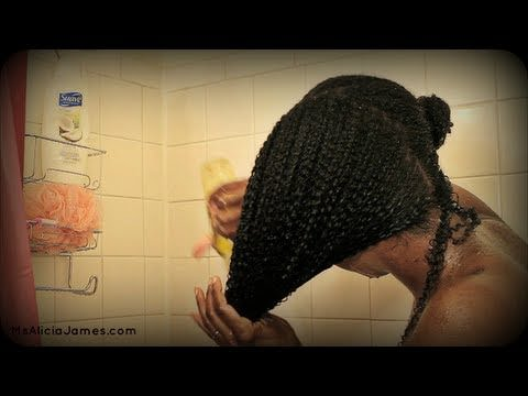 How to co wash natural hair