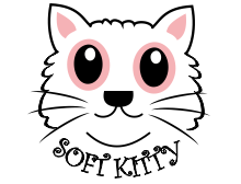 Soft kitty T-shirt design