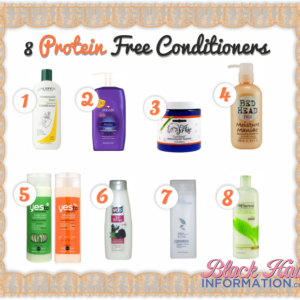 8 Really Good Protein Free Conditioners