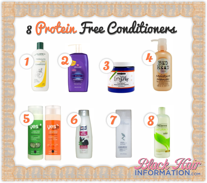 Natural Hair Conditioners Without Protein