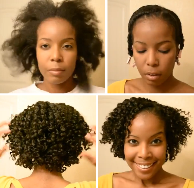 Flat Twist Out On Natural Hair Tutorial - Black Hair Information