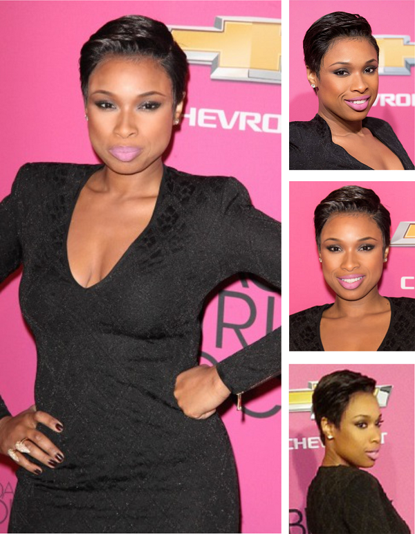 Jennifer Hudson new pixie haircut
