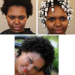 Perm Rod Set On 4b/c Natural Hair Tutorial