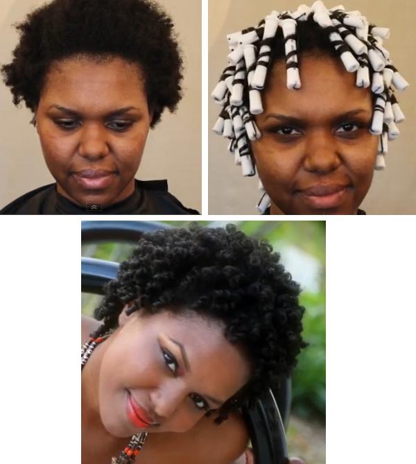 Perm Rod Set On 4b/c Natural Hair Tutorial - Black Hair Information