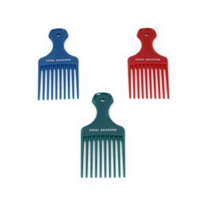3 hair picks