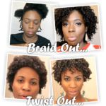 Twist Outs Vs Braid Outs On Natural 4b 4c Hair