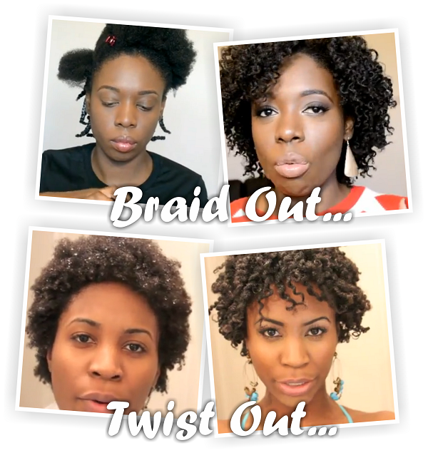 Twist Outs Vs Braid Outs On Natural 4b 4c Hair Black