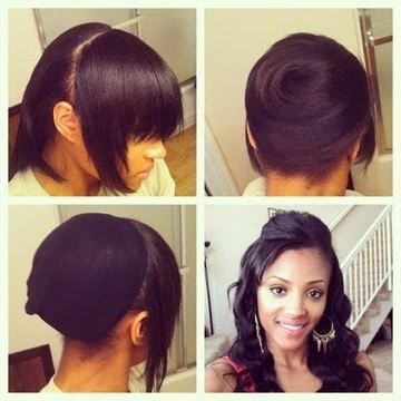Cool Clips Ins As A Protective Style Black Hair Information Short Hairstyles Gunalazisus