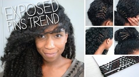 Exposed Bobby Pin Trend