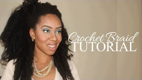 Natural Looking Crotchet Braid Tutorail Created Using A Bobby Pin