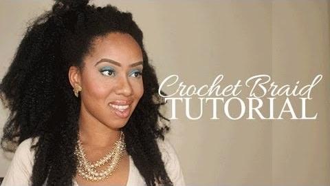 Crochet Hair Extensions Tutorial : ... Looking Crotchet Braid Extensions Tutorial - Black Hair Information
