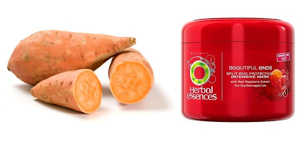 sweet potato vs herbal essences