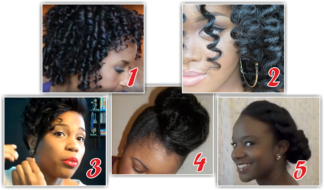 how to style medium hair without heat hairstyles for relaxed hair without heat hairstyles 5560
