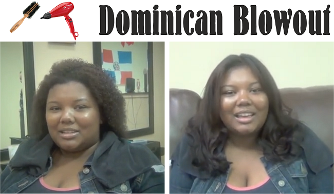 A Look At The Dominican Blowout Technique On Natural Hair