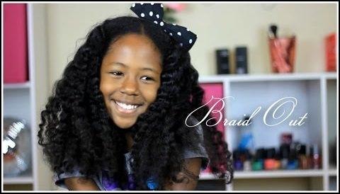 Kelli-Nicole's Braid-Out Tutorial