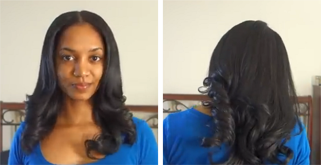 Loose Waves Using the Instyler