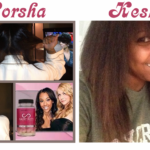 Porsha Williams And Keshia Knight Pulliam Are Growing Out Their Hair Using Hairfinity