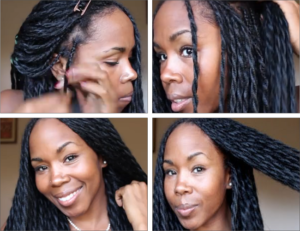 Simple Protective Style - Long Twists Tutorial