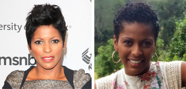 Tamron Hall Reveals Her Natural Hair In Africa
