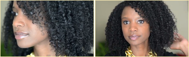 The LOG Method For A Shiny Moisturized Wash And Go
