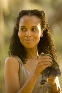 Kerry Washington as Broomhilda von Schaft in Quentin Tarantino's Django Unchained