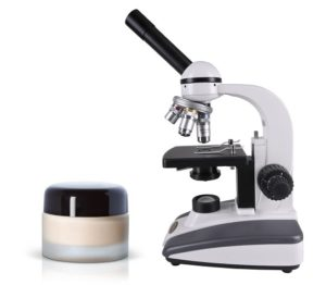 Microscope and hair product