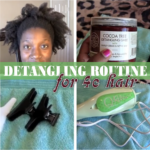 An Easy Detangling Routine For 4c Natural Hair