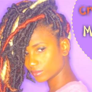 Creative Marley Locs On Natural Hair