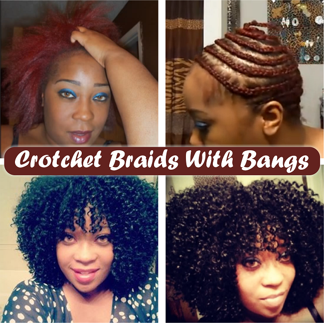 Crotchet braids with bangs