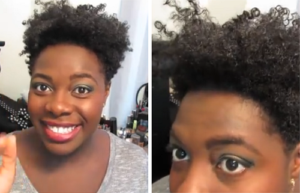Defining Curls With A Denman Brush - 4b 4c Natural Hair