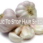 Garlic: A Natural Way To Stop Hair Shedding?