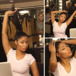 """Barbie"" Nicki Minaj Shows Off Her Natural Hair On Instagram"