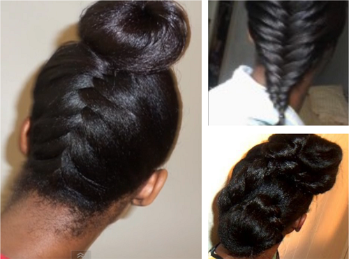 Easy Hairstyles For Medium Black Relaxed Hair : Hairstyle ideas for long relaxed hair or flat ironed natural