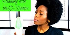 Q-Redew Handheld Hair Steamer 1st Impressions type 4a