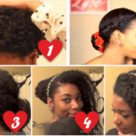 Romantic Natural Hairstyles for Valentine's Day