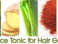 A Juice Tonic for Hair Growth